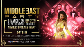 Middle East Party toute la nuit ! (veille de fête) in Paris le Sun, June  9, 2019 from 11:00 pm to 06:00 am (Clubbing Gay, Bear)