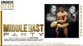Middle East & Maghreb Party in Paris le Sun, April  7, 2019 from 07:00 pm to 11:55 pm (Clubbing Gay, Bear)