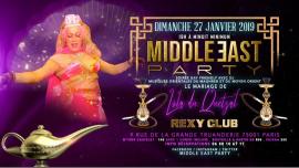 Lola se marie à la Middle East Party ! à Paris le dim. 27 janvier 2019 de 19h00 à 23h55 (Clubbing Gay, Bear)