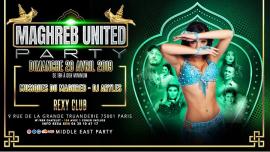 Maghreb United Party avec notre danseuse Katia à Paris le dim. 28 avril 2019 de 19h00 à 23h55 (Clubbing Gay, Bear)