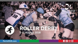 Gay Games 10 - Roller Derby à Paris du  5 au 11 août 2018 (Sport Gay, Lesbienne)