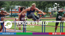 Gay Games 10 - Track & Field à Paris du  6 au 10 août 2018 (Sport Gay, Lesbienne)