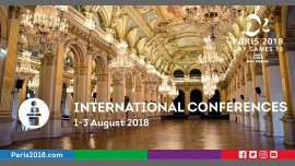 Gay Games 10 - International Conferences Sport & Diversity in Paris from  1 til August  3, 2018 (Meetings / Discussions Gay, Lesbian)