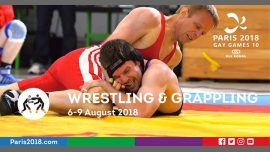 Gay Games 10 - Wrestling & Grappling à Paris du  6 au  9 août 2018 (Sport Gay, Lesbienne)
