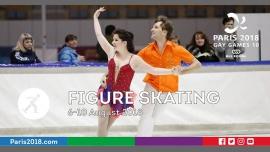 Gay Games 10 - Figure Skating in Paris from  6 til August 10, 2018 (Sport Gay, Lesbian)