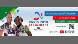 Tennis à Paris du  5 au 10 août 2018 (Sport Gay, Lesbienne)