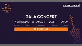 Paris 2018 - Gala Concert à Paris le mer.  8 août 2018 de 20h00 à 23h00 (Concert Gay, Lesbienne)