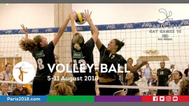 Gay Games 10 - Volley-ball à Paris du  5 au 11 août 2018 (Sport Gay, Lesbienne)