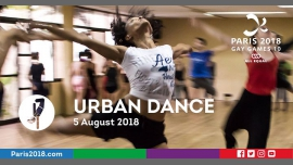 Gay Games 10 - Urban dance à Paris le dim.  5 août 2018 de 13h00 à 19h00 (Sport Gay, Lesbienne)