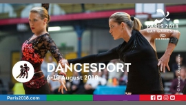 Gay Games 10 - Dancesport à Paris du  6 au 10 août 2018 (Sport Gay, Lesbienne)