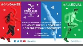 Gay Games 10 à Paris du  4 au 12 août 2018 (Sport Gay, Lesbienne)