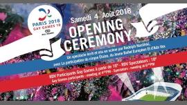 Gay Games 10 - Opening Ceremony à Paris le sam.  4 août 2018 de 16h00 à 23h00 (Cérémonies Gay, Lesbienne)