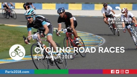 Gay Games 10 - Cycling Road Races à Paris du  8 au 10 août 2018 (Sport Gay, Lesbienne)
