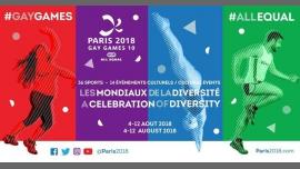 Athletics à Paris du  6 au 10 août 2018 (Sport Gay, Lesbienne)