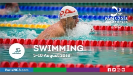 Gay Games 10 - Swimming à Paris du  5 au 10 août 2018 (Sport Gay, Lesbienne)
