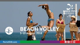 Gay Games 10 - Beach Volley à Paris du  5 au 10 août 2018 (Sport Gay, Lesbienne)