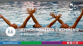 Gay Games 10 - Synchronized swimming à Paris du  6 au  8 août 2018 (Sport Gay, Lesbienne)