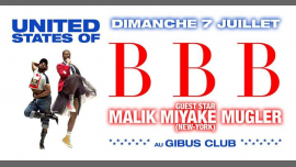 United States of BBB in Paris le Sun, July  7, 2019 from 11:00 pm to 06:00 am (Clubbing Gay Friendly)