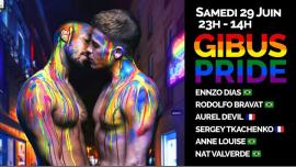 GIBUS PRIDE 2019 em Paris le sáb, 29 junho 2019 23:00-14:00 (Clubbing Gay Friendly)