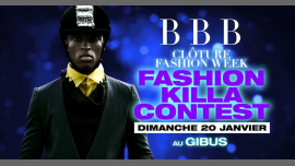BBB : Fashion Killa Contest à Paris le dim. 20 janvier 2019 de 23h00 à 06h00 (Clubbing Gay Friendly)