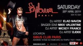 Gibus Paris - Grand Opening à Paris le sam. 20 avril 2019 de 23h55 à 06h00 (Clubbing Gay Friendly)