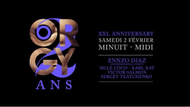 ORGY - 2nd XXL Anniversary à Paris le sam.  2 février 2019 de 23h59 à 12h00 (Clubbing Gay Friendly)