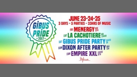 Gibus Pride Weekend 2017 à Paris du 23 au 26 juin 2017 (Clubbing Gay Friendly)