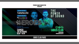 Heroes : The Power of Sound à Paris le sam. 28 octobre 2017 de 23h55 à 06h00 (Clubbing Gay Friendly)
