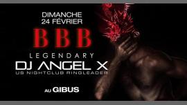 BBB : Legendary Angel X à Paris le dim. 24 février 2019 de 23h00 à 06h00 (Clubbing Gay)