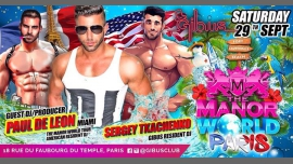 THE MANOR World Paris in Paris le Sat, September 29, 2018 from 11:55 pm to 06:00 am (Clubbing Gay Friendly)