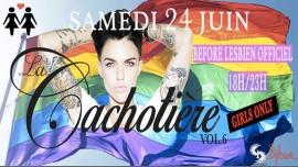 La Cachotière Pride à Paris le sam. 24 juin 2017 de 18h00 à 23h00 (After-Work Lesbienne)