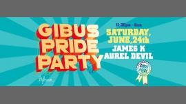 GIBUS PRIDE PARTY 2017 à Paris le sam. 24 juin 2017 de 23h30 à 06h00 (Clubbing Gay Friendly)