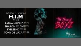 H.I.M Paris: The House of BOYZ à Paris le sam. 13 avril 2019 de 23h55 à 12h00 (Clubbing Gay Friendly)