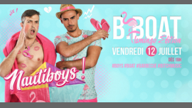 B.Boat Summer Party - Flamingo Édition en Paris le vie 12 de julio de 2019 19:00-04:00 (After-Work Gay)