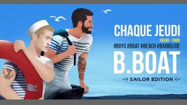 BBOAT : l'afterwork gay de l'été à Paris le jeu. 22 juin 2017 de 19h30 à 02h00 (After-Work Gay, Lesbienne, Hétéro Friendly, Bear, Trans, Bi)