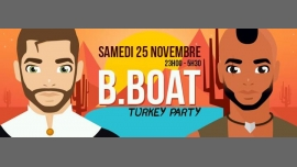 Bboat spéciale Turkey Party in Paris le Sa 25. November, 2017 23.00 bis 05.30 (Clubbing Gay, Lesbierin, Hetero Friendly, Transsexuell, Bi)