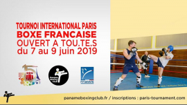 TIP 2019 / Boxe Française in Paris from  7 til June  9, 2019 (Sport Gay, Lesbian)
