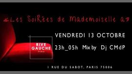 Clubbing au Rive Gauche ! à Paris le ven. 13 octobre 2017 de 23h00 à 05h00 (Clubbing Lesbienne)