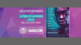 «Moonlight» // Avant-première avec Garçon Mag & Chéries-Chéris a Parigi le lun 23 gennaio 2017 19:30-23:00 (Cinema Gay, Lesbica)