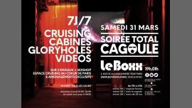Soirée total cagoule au Boxx de Boxxman in Paris le Sat, March 31, 2018 from 07:00 pm to 01:00 am (Sex Gay)