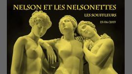 Nelson et les Nelsonettes in Paris le Sat, June 15, 2019 from 10:00 pm to 05:00 am (Clubbing Gay)