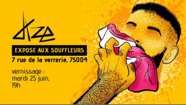 Daze expose aux Souffleurs en Paris le mar 25 de junio de 2019 19:00-23:00 (Expo Gay)