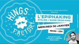 Kings Factory : L'Epiphaking ! à Paris le mer. 30 janvier 2019 de 18h30 à 02h00 (Clubbing Gay)
