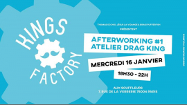 Kings Factory : Afterworking #1 in Paris le Wed, January 16, 2019 from 06:30 pm to 10:00 pm (Clubbing Gay)