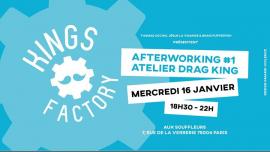 Kings Factory : Afterworking #1 à Paris le mer. 16 janvier 2019 de 18h30 à 22h00 (Clubbing Gay)