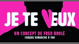 JE TE VEUX- Comedy Jam Fighters- Special St Valentin à Paris le dim. 17 février 2019 de 19h00 à 21h00 (After-Work Gay)
