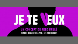 JE TE VEUX- N*15- Comedy Jam Fighters - Humour aux Souffleurs en Paris le dom 21 de abril de 2019 20:00-22:00 (Espectáculo Gay)