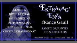 Extravag'Enza : fRance Gaull in Paris le Sat, January 26, 2019 from 10:00 pm to 05:00 am (Clubbing Gay)