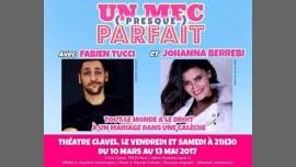 Un mec presque parfait à Paris le ven. 21 avril 2017 de 21h30 à 22h30 (Théâtre Gay Friendly, Lesbienne Friendly)