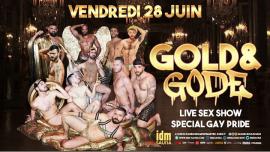 Gold&Gode in Paris le Fr 28. Juni, 2019 18.00 bis 23.59 (Sexe Gay)